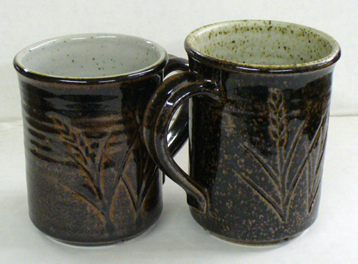 How iron particles in the body affect the look of a Tenmoku glaze