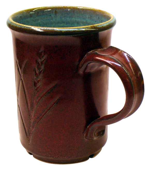G2896 Ravenscrag Plum Red iron red cone 6 glaze