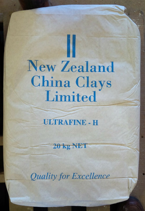 New Zealand Kaolin original container