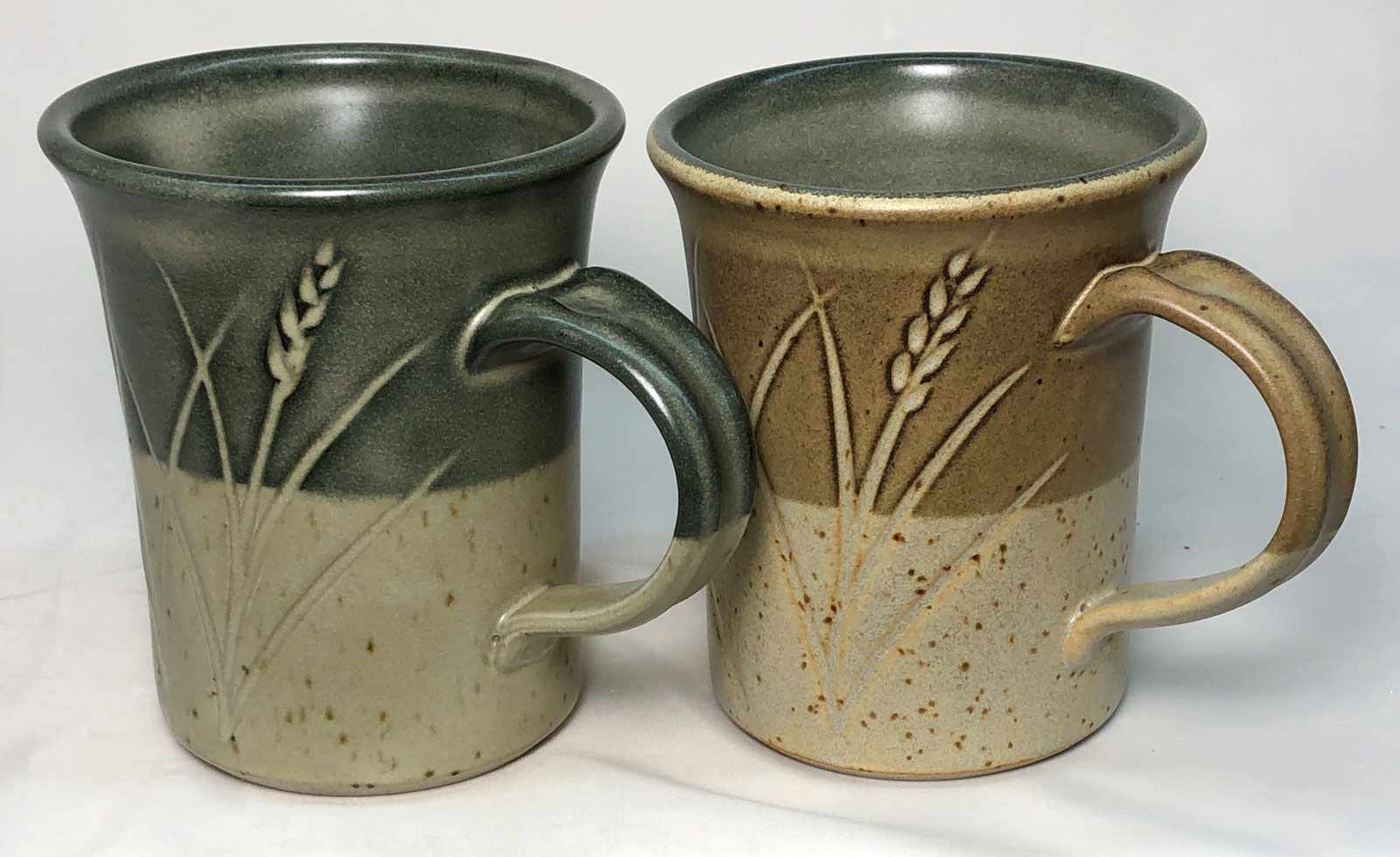 Ravenscrag talc matte glaze mugs