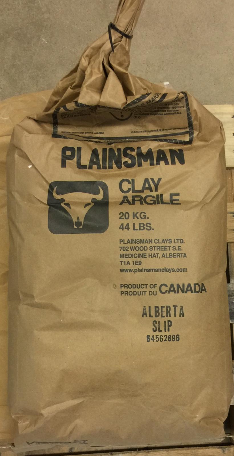 An original container bag of Alberta Slip