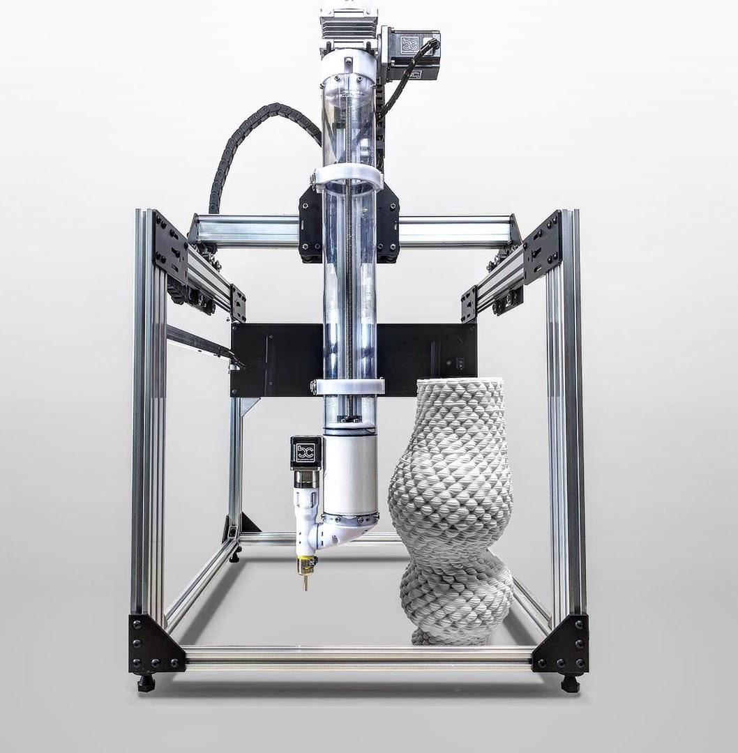 CERA-1 Open Source Clay 3D Printer Extruder