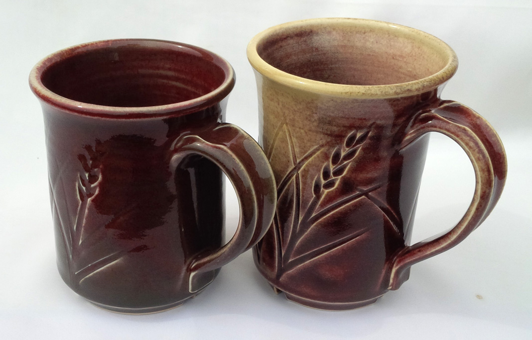 Messing up the firing of a copper red glaze