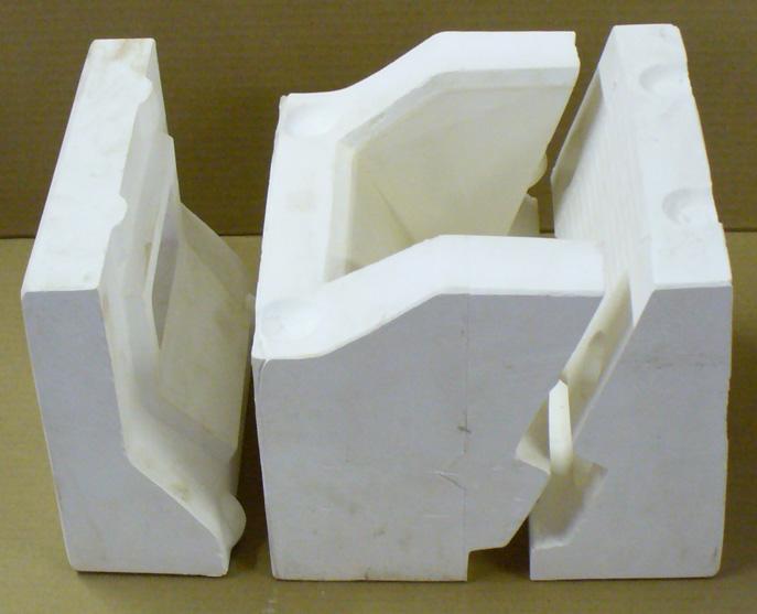 Melt flow comparison between Nepheline Syenite 270 and 400 mesh