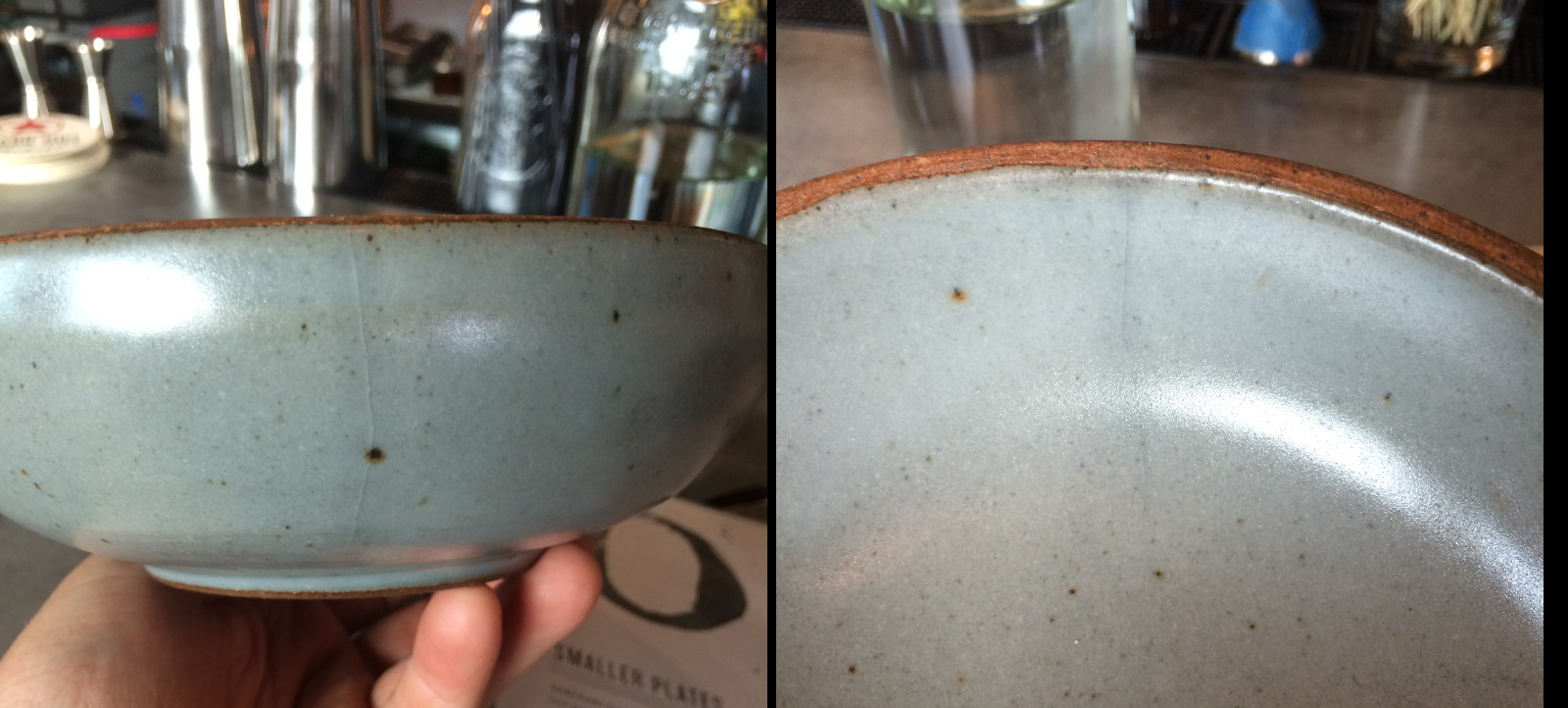 A cone 10 Reduction bowl has cracked after continuous use