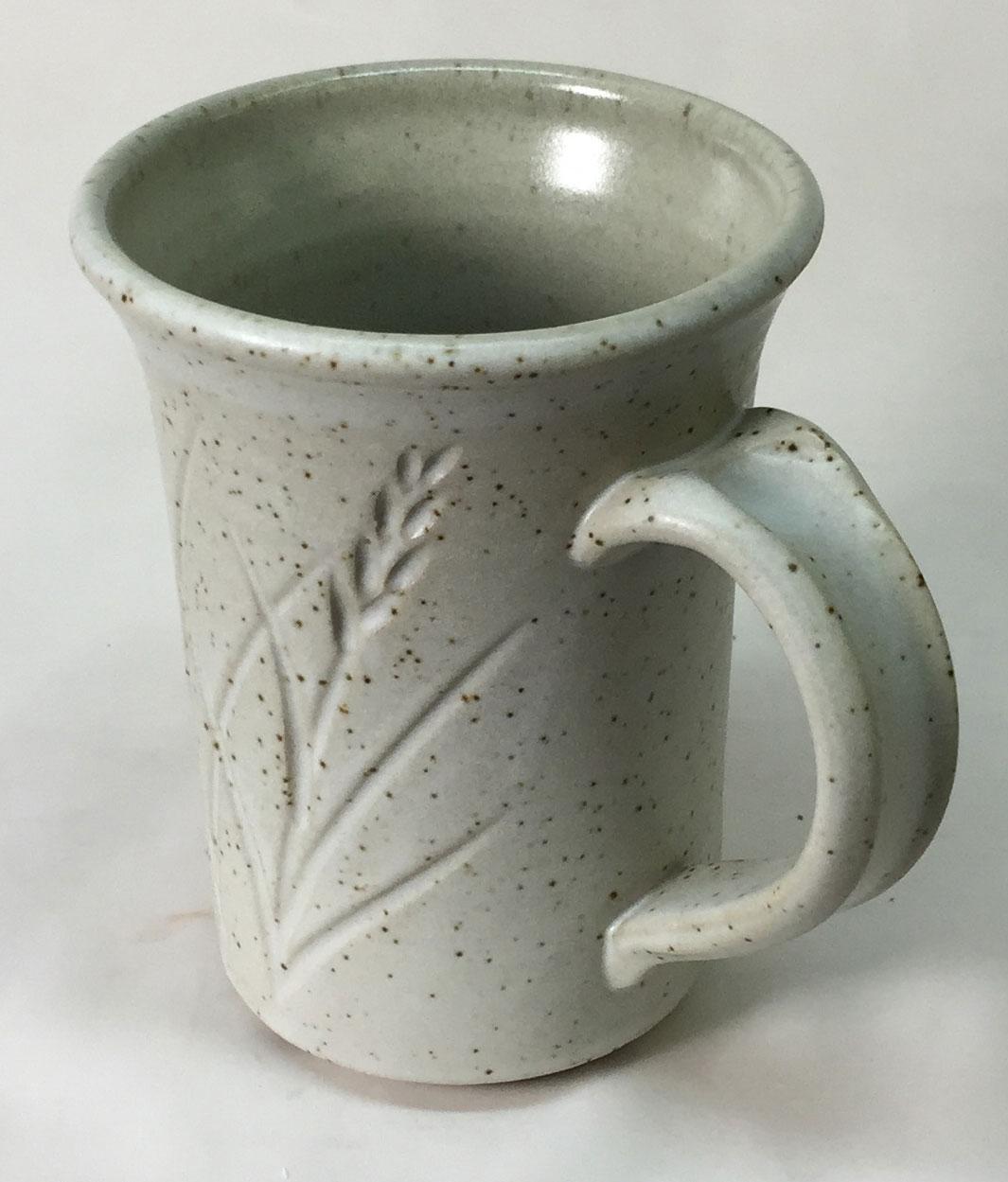 G2571 Cone 10R silky matte glazed mug