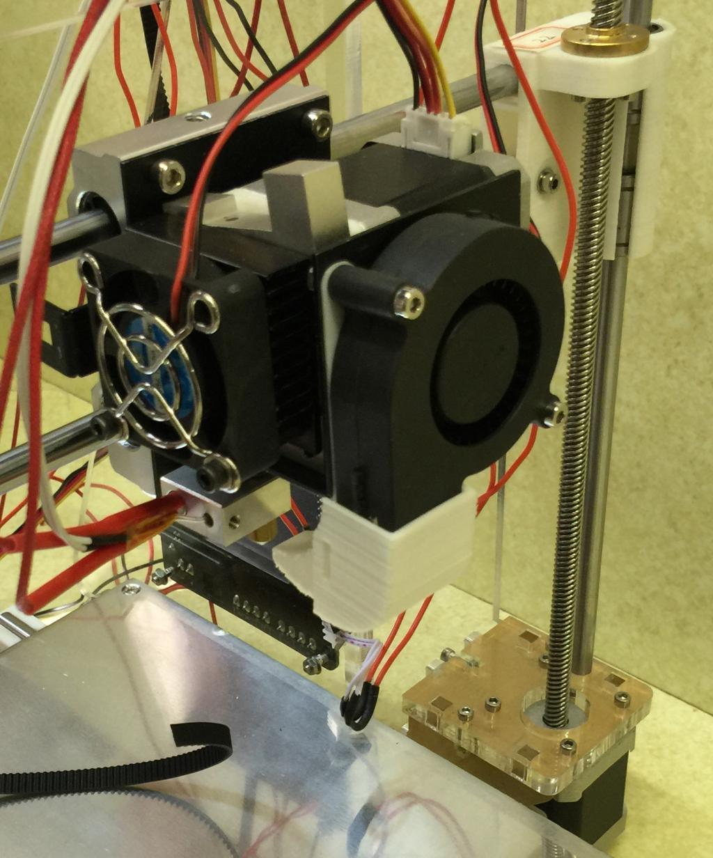The printhead of a common RepRap printer