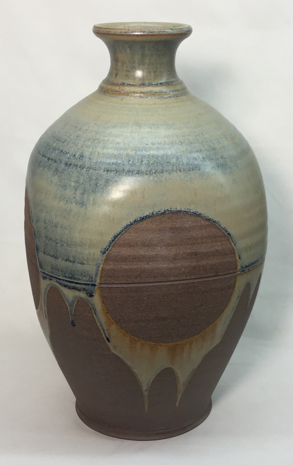 Cone 10R Reduction Fired Vase by Tony Hansen