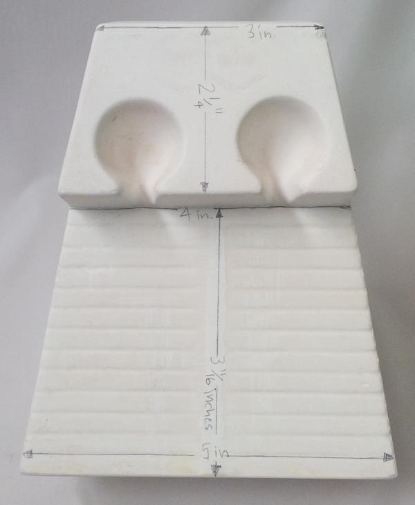 Flow tester measurements front side