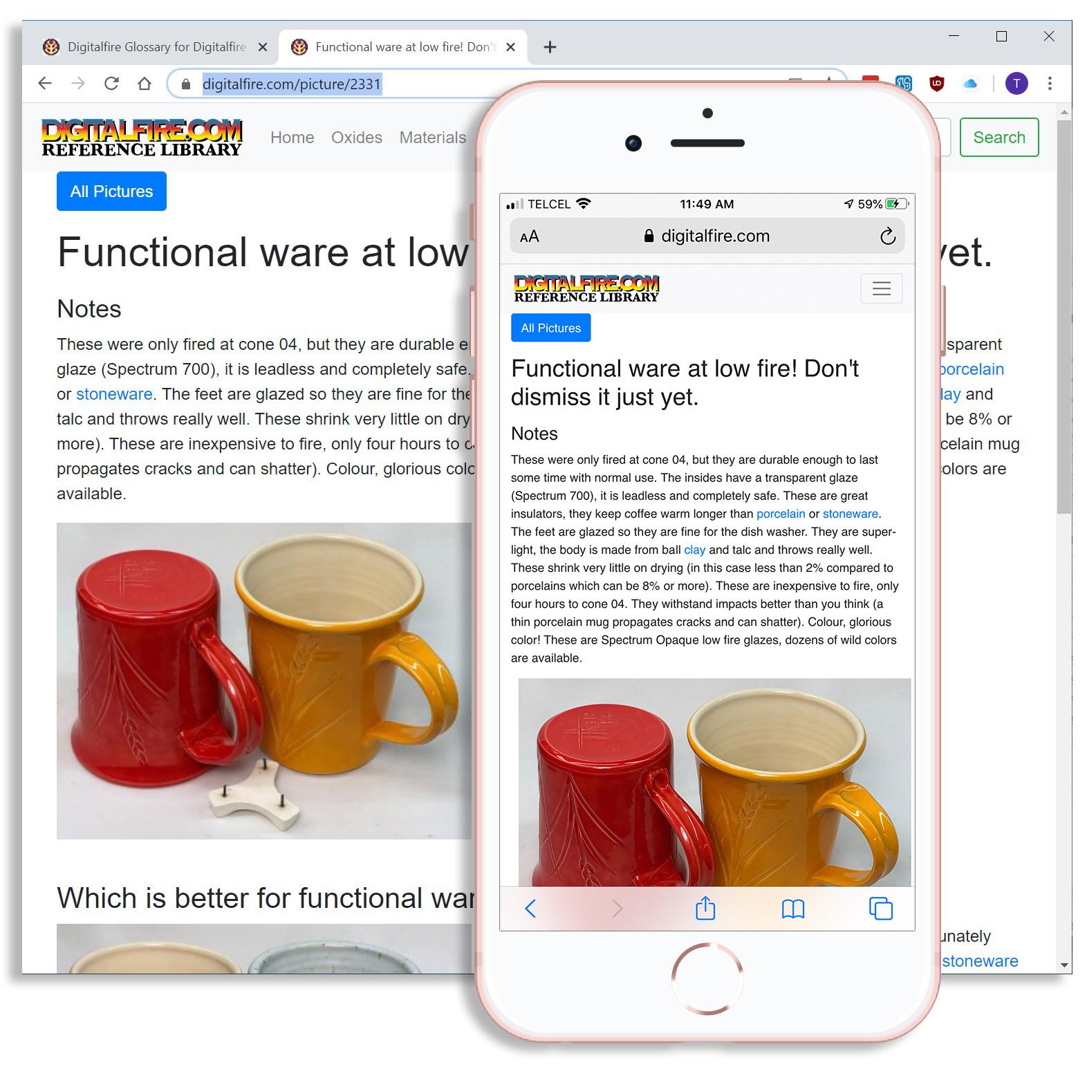The Digitalfire Reference Library by Tony Hansen