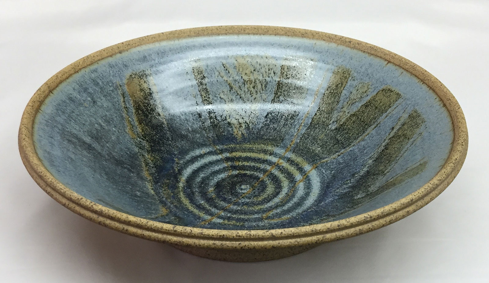 15 inch reduction fired bowl by Tony Hansen