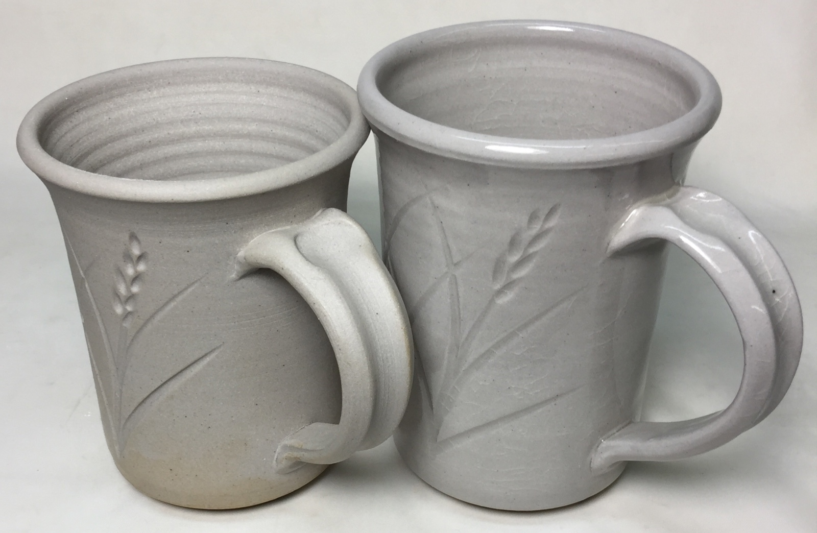 Can you cone-03-clear-glaze a cone 10R bisque-fired stoneware mug? Yes.