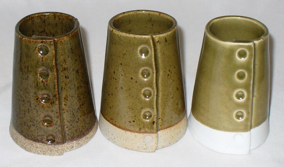 GR10-E 50:50 Alberta Slip:Ravenscrag Slip celadon at cone 10R