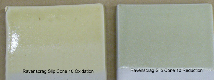 Ravenscrag Slip pure: Oxidation vs. Reduction