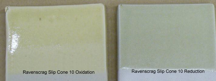 Ravenscrag Slip pure: Oxidation vs. Reduction
